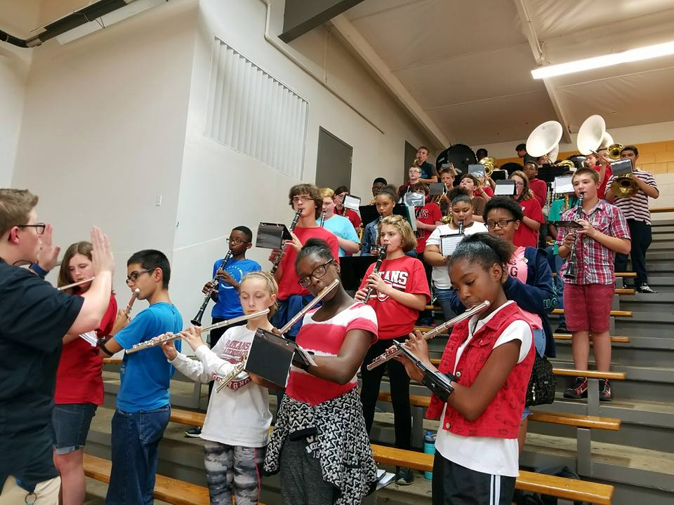 Jacksonville North Pulaski Band – Confidence, Consistency