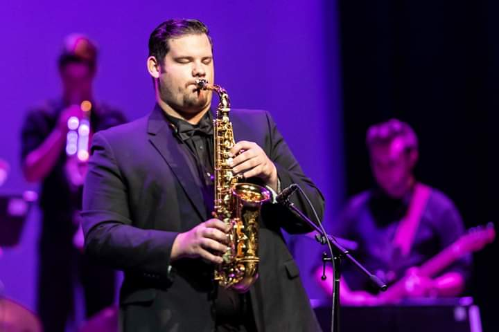 Mr. C.J. Slatton on saxophone